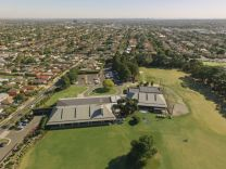 Roof - Metro golf club aerial